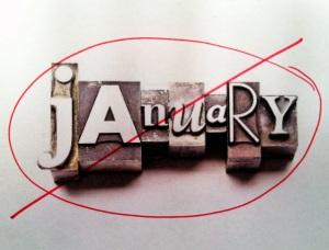 no january